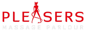 Pleasers Massage Parlour Logo